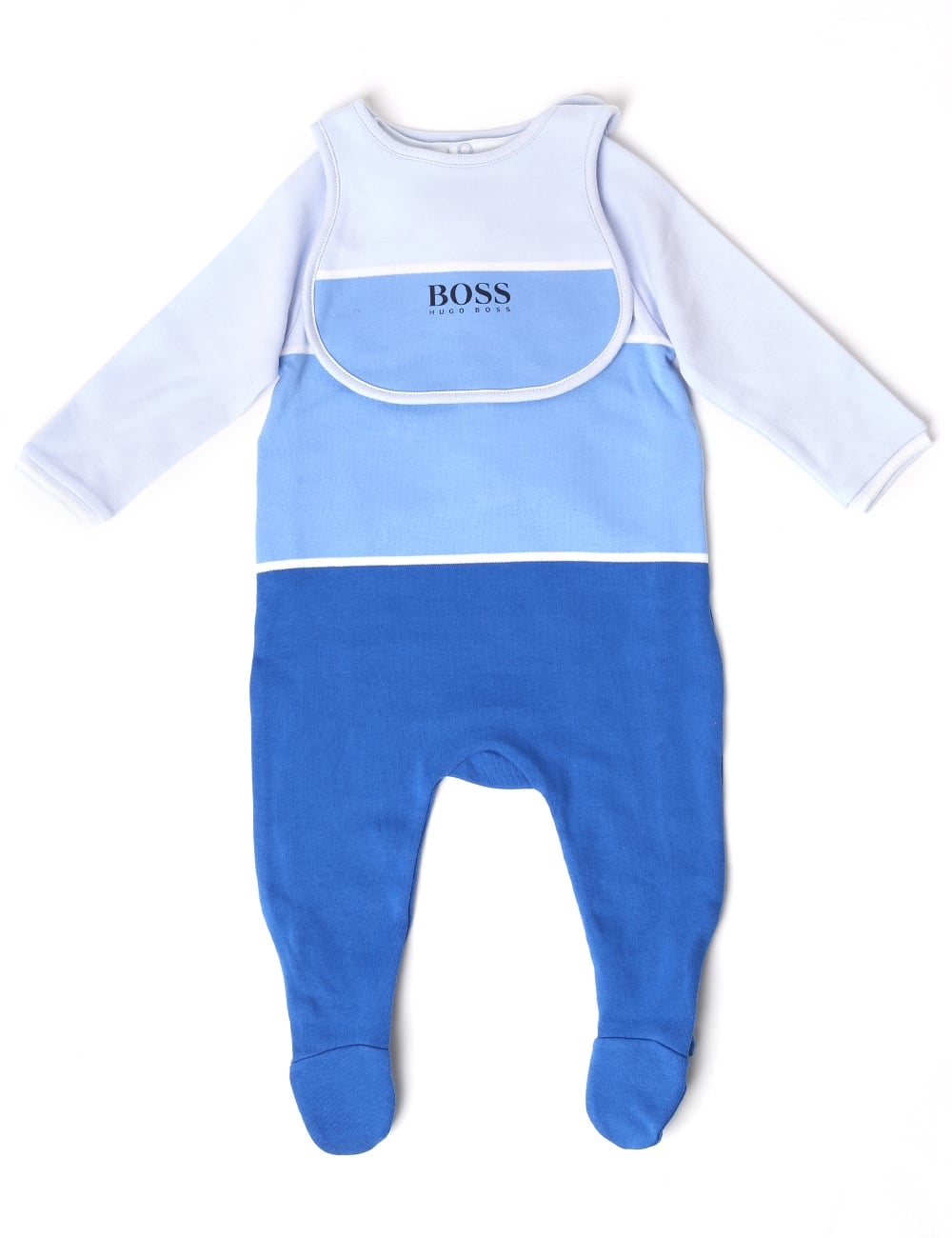Hugo Boss Baby Boys Pyjamas And Bib Set