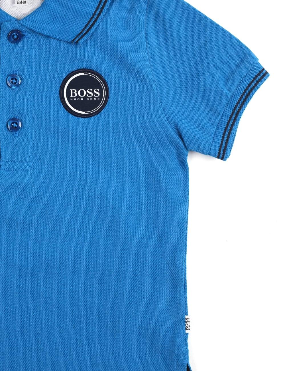6b370a0f3801 Hugo Boss Baby Boys Short Sleeve Polo Top
