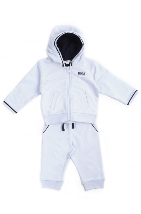 Baby Boy's Zip Through Hooded Tracksuit