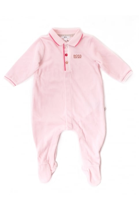 Baby Girls One Piece Pyjamas