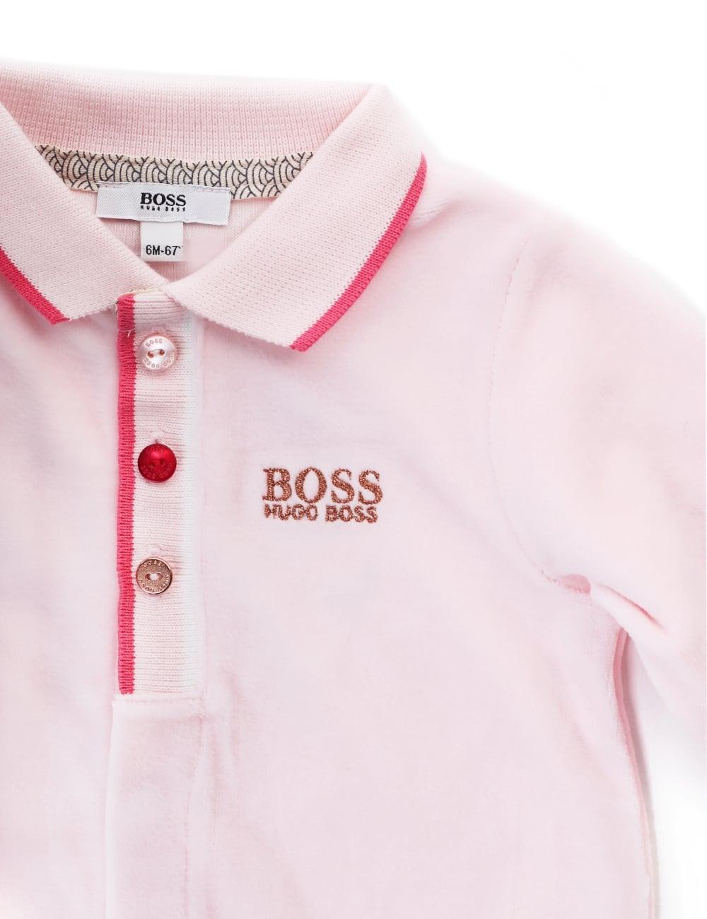 9bc84e8654a74 Hugo Boss Baby Girls One Piece Pyjamas