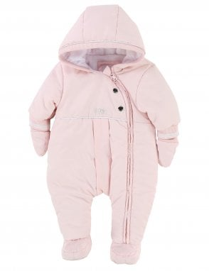 ad116ef57df0e Baby Girls Snowsuit. Boss Baby Girls Snowsuit