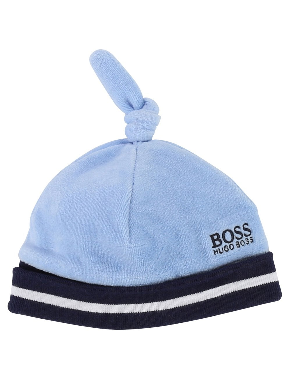 Hugo Boss Kids Baby s Velour Knotted Beanie 9aabbd1ff