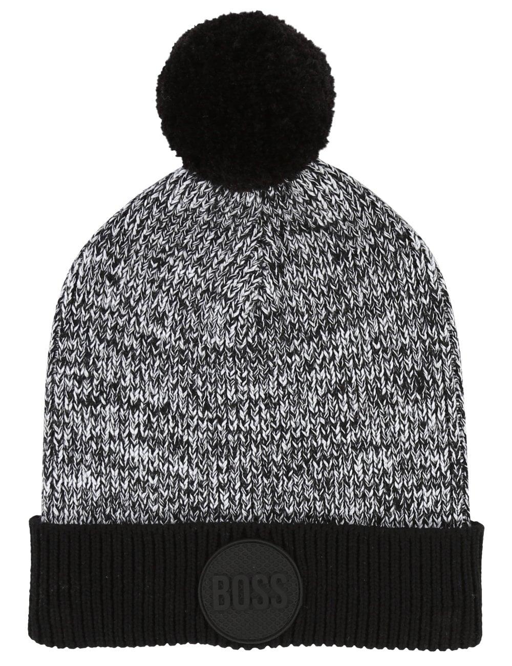 39976990471 Hugo Boss Kids Boys Knitted Bobble Hat
