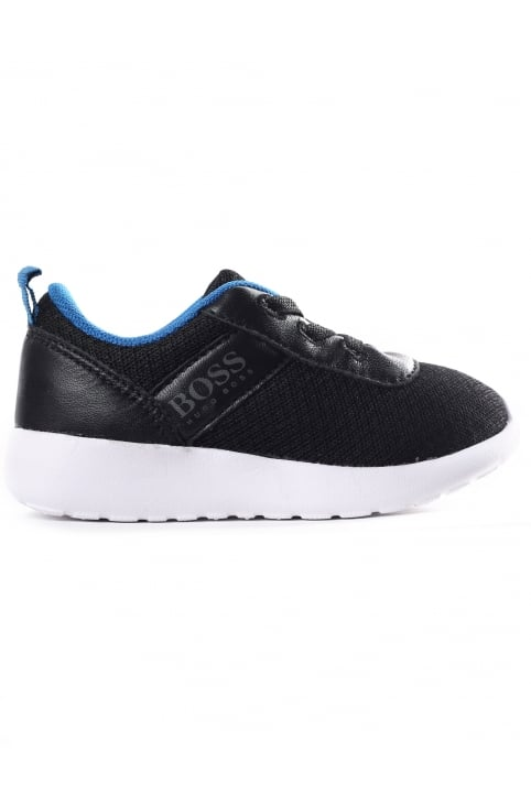 Boys Low Top Mesh Trainer