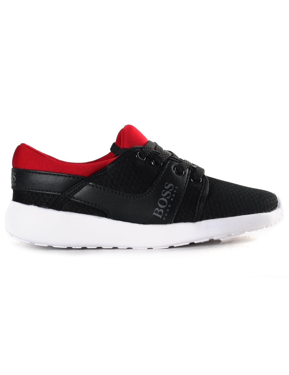 great variety styles various styles discount collection Boss Boys Low Top Mesh Trainers