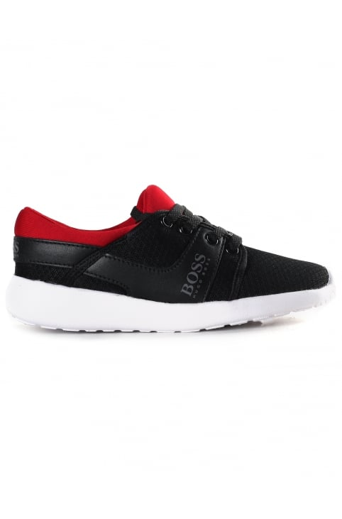 Boys Low Top Mesh Trainers