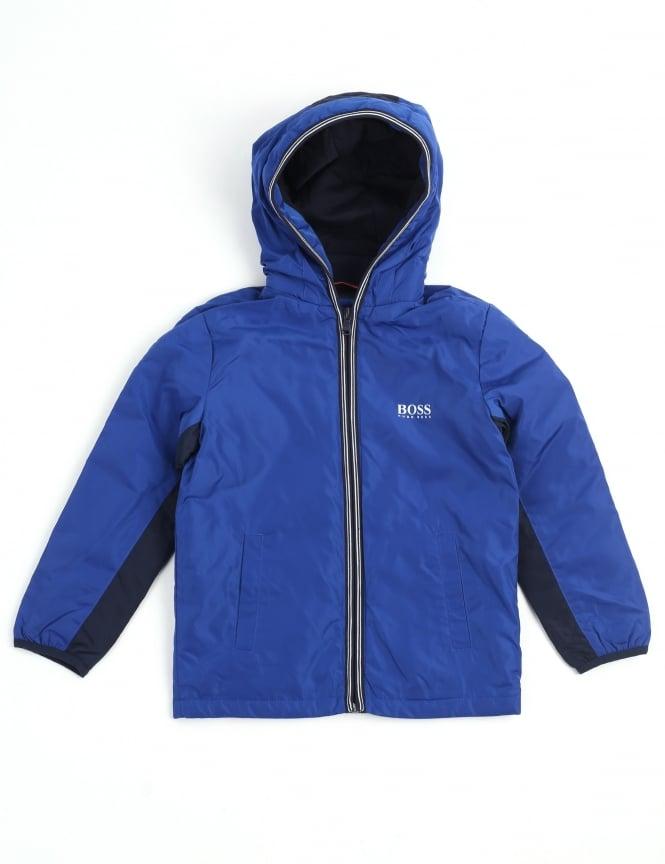 66d25e4680ed Hugo Boss Boys Youth Zip Through Hooded Jacket