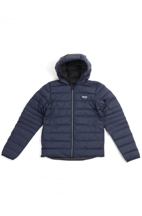 Boys/Youth Zip Through Hooded Jacket