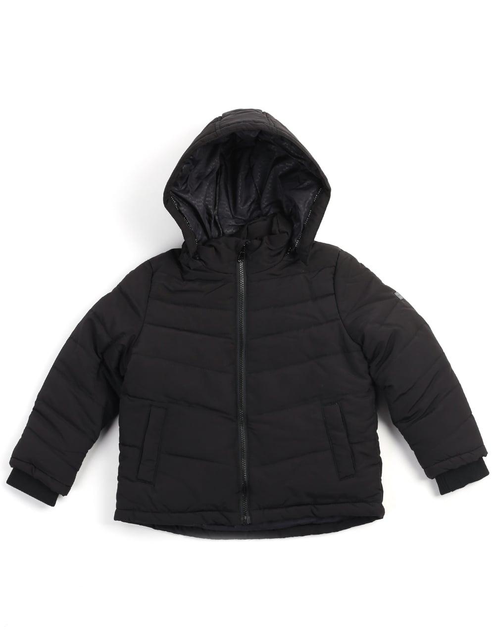 ef5711bb8fcc Hugo Boss Boys Youth Zip Through Jacket