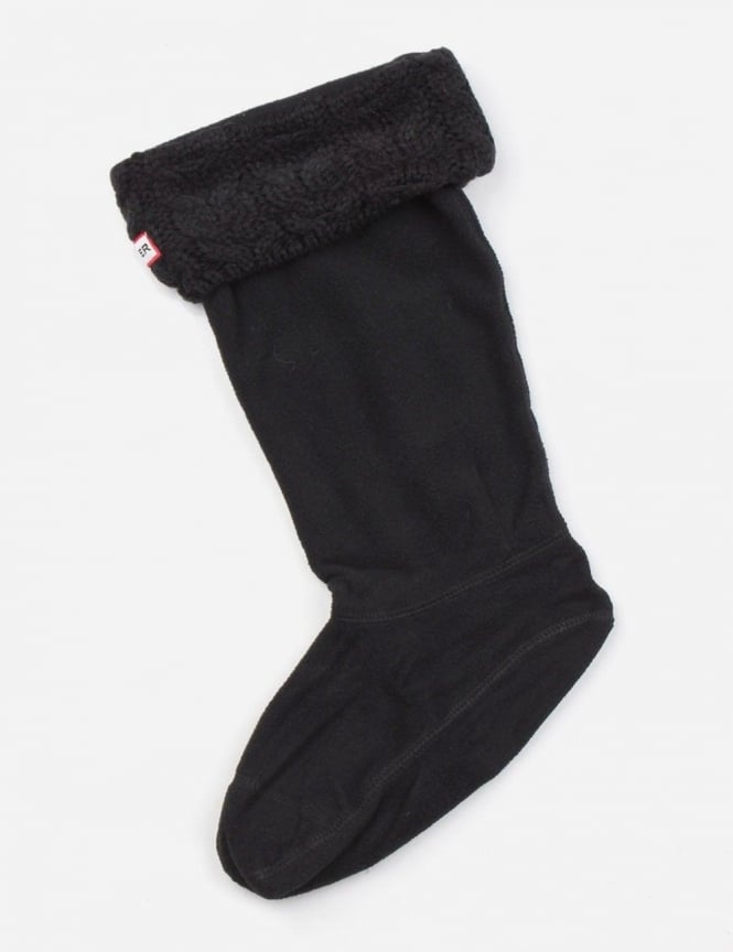 Hunter Chunky Cable Welly Socks