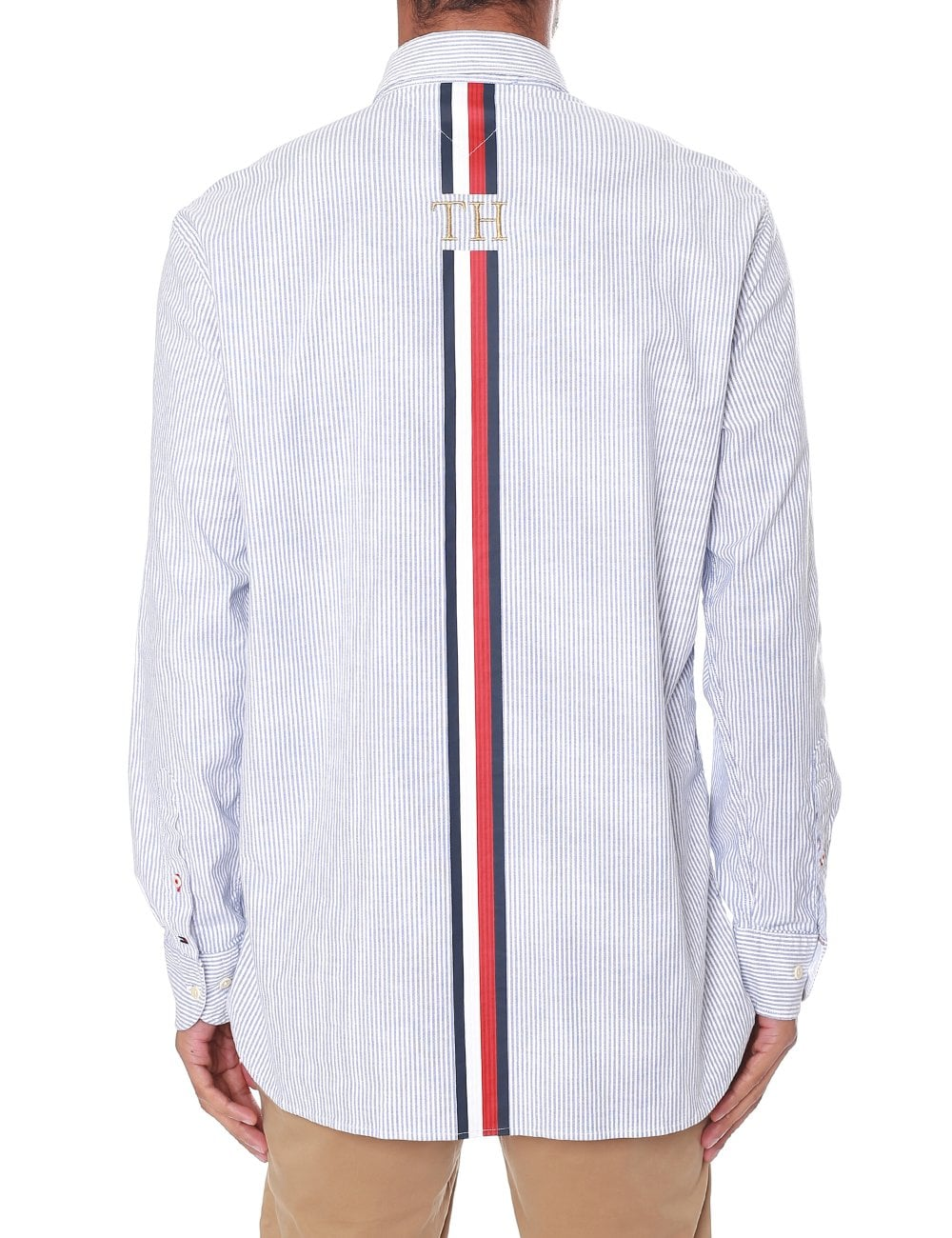 7db009cfa96 Tommy Hilfiger Men's Icon Oversized Stripe Shirt