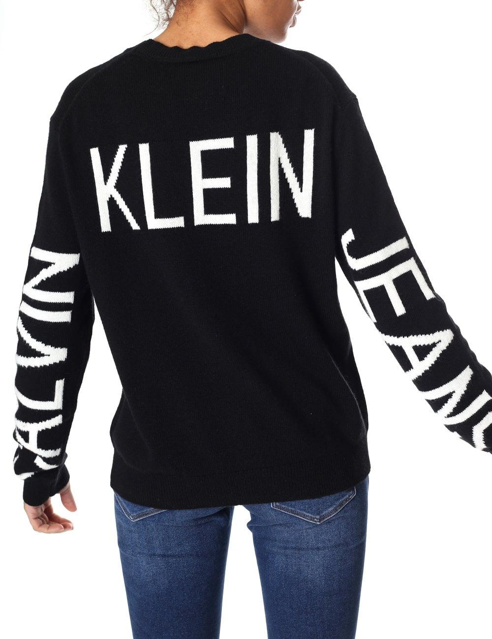 a93af3d0 ... Calvin Klein Institutional Back Logo Jumper. Tap image to zoom. Institutional  Back Logo Jumper