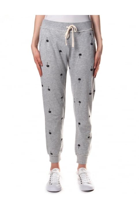 Women's Palm Tree Terry Sweat Pant Heather