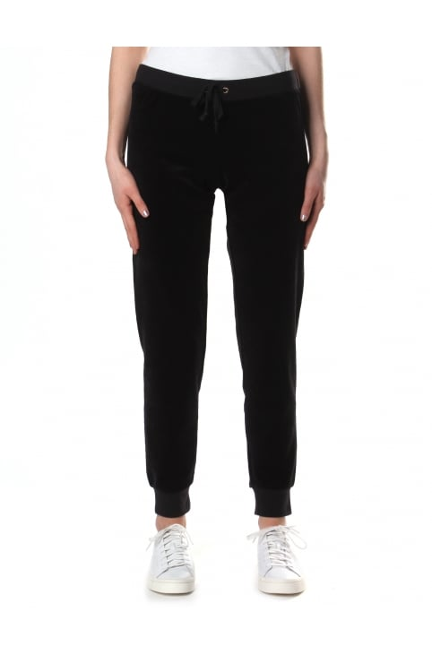 Women's Velour Zuma Pant Pitch Black