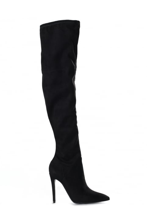 Women's Ayla Suede Over The Knee High Boot
