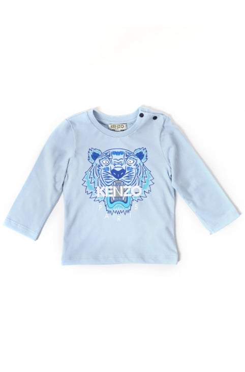 Baby Boys Tiger 47 Long Sleeve Tee