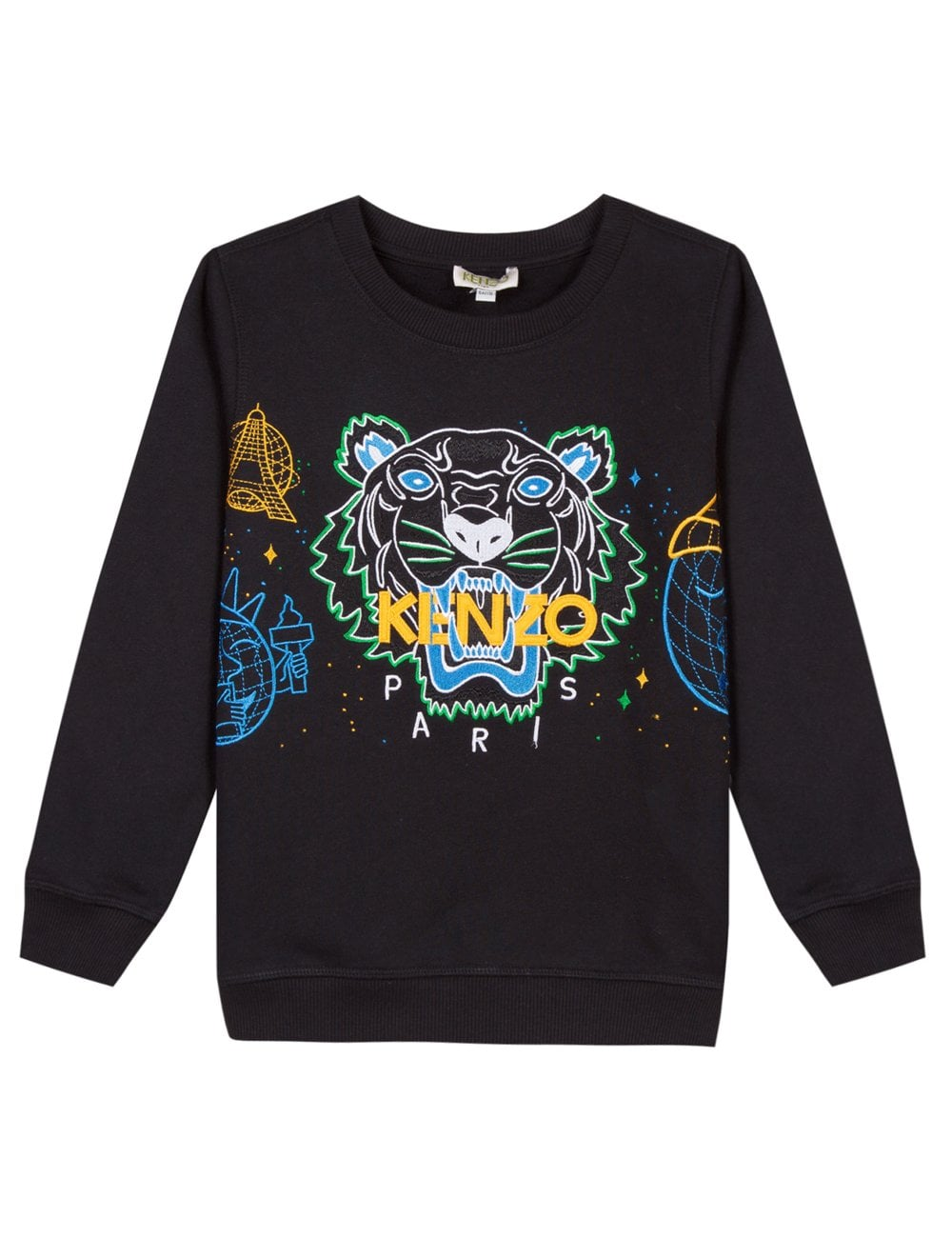 eca814fd2 Kenzo Boys Tiger JB 6 Sweat Top