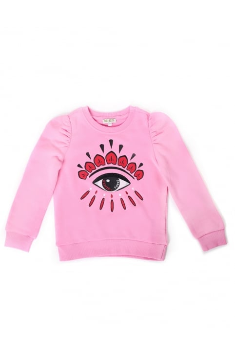 Girls Calia Winking Eye Sweat Top