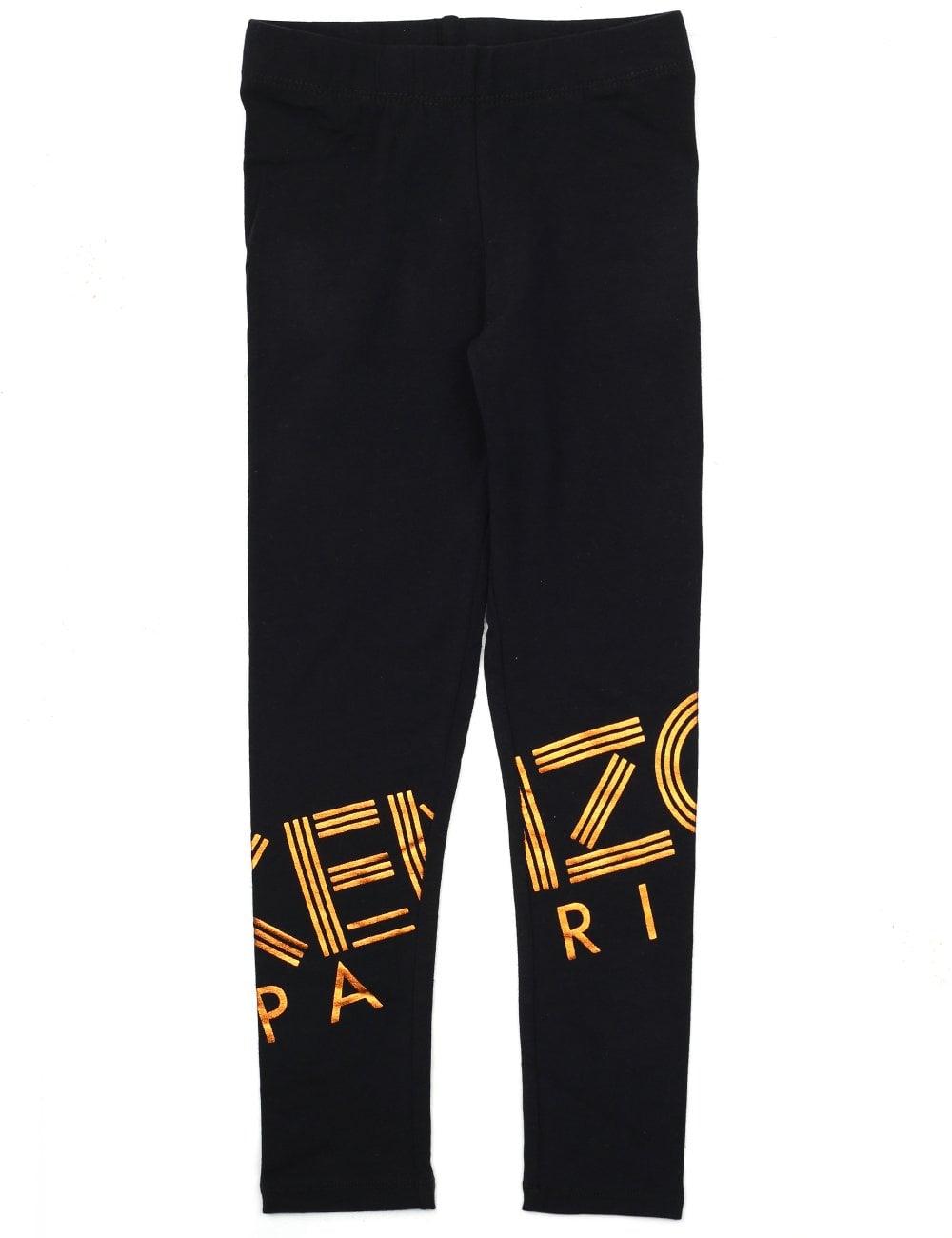 53db225330e3 Kenzo Girls Logo Leggings