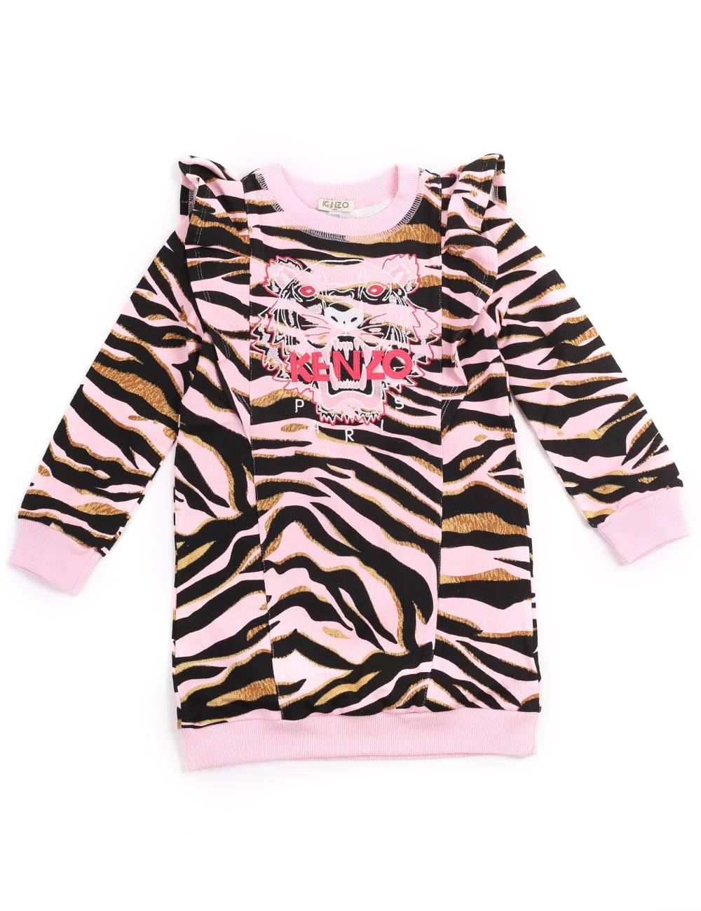 Kenzo Girls Tiger 12 SweaterDress 979da72f2ce7
