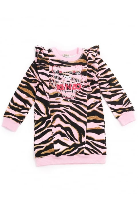 Girls Tiger 12 Sweater Dress