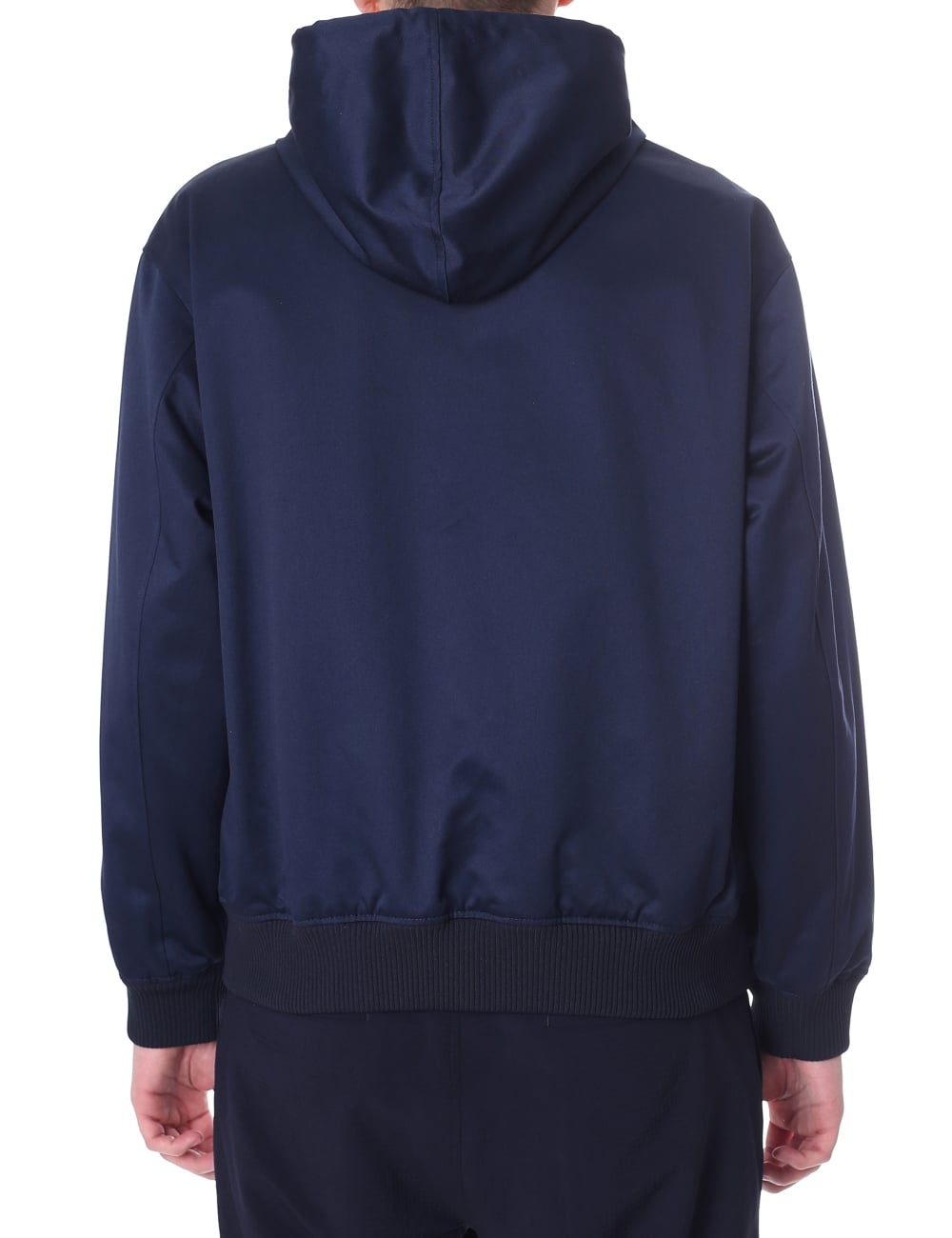 0102ed6edbe Kenzo Men s Hooded Blouson Jacket Navy Blue
