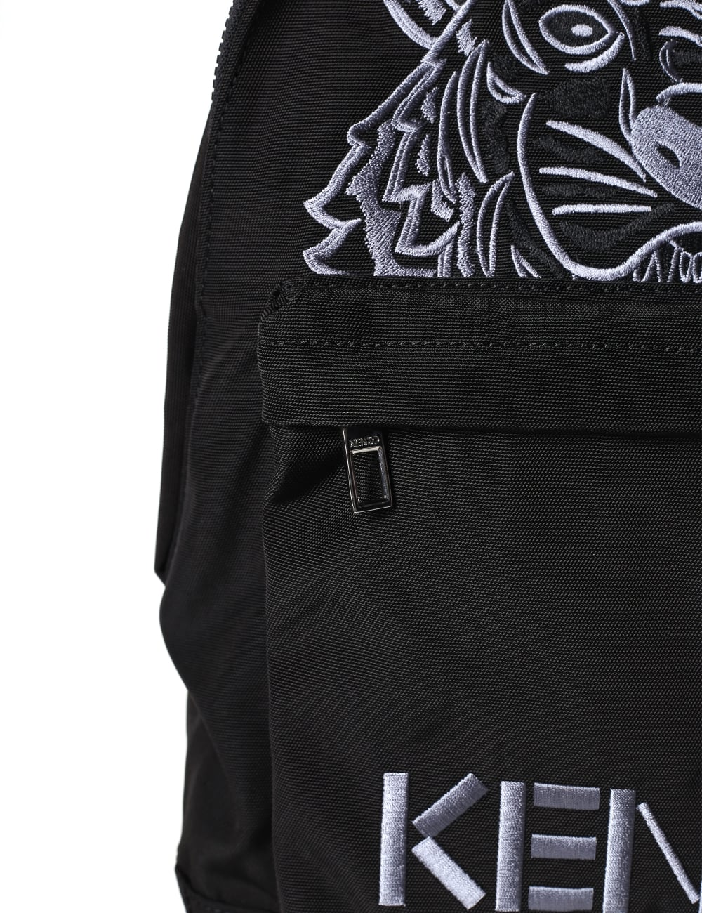 7877ad7b9e83 Kenzo Men s Large Tiger Canvas Backpack