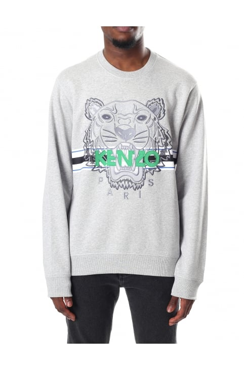 Men's Long Sleeve Sport Tiger Sweatshirt