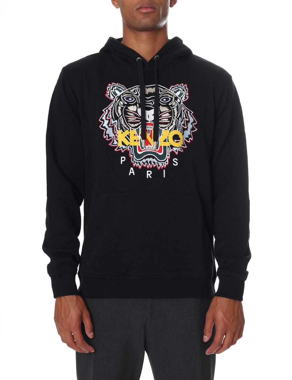 Kenzo Men s Long Sleeve Tiger Hoodie 82384274ccd