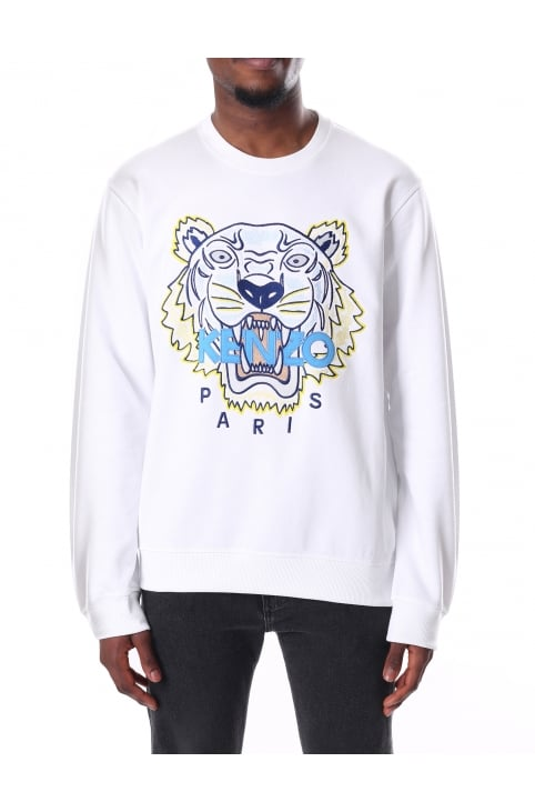 Men's Long Sleeve Tiger Sweatshirt