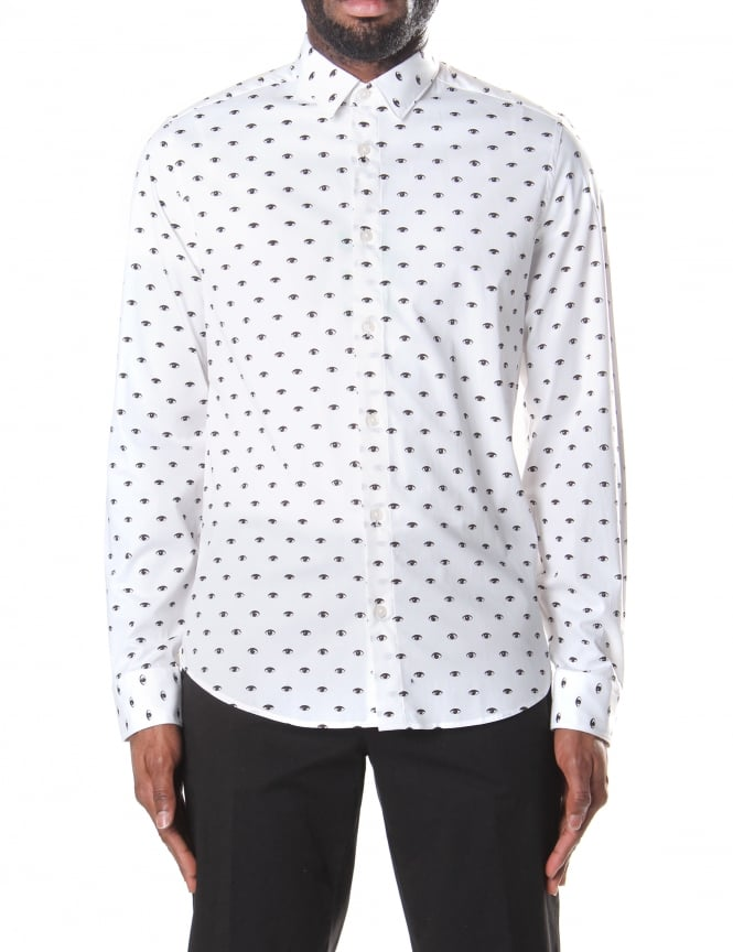 Kenzo Men's Multi Eye Slim Fit Shirt