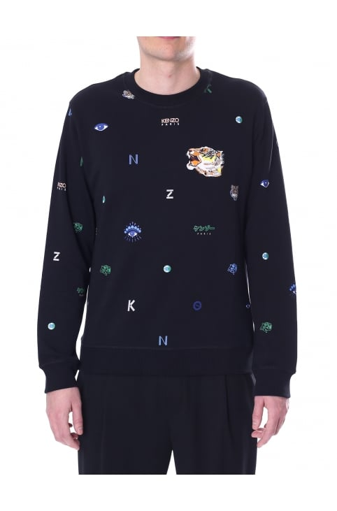 Men's Multi Icons Classic Sweatshirt