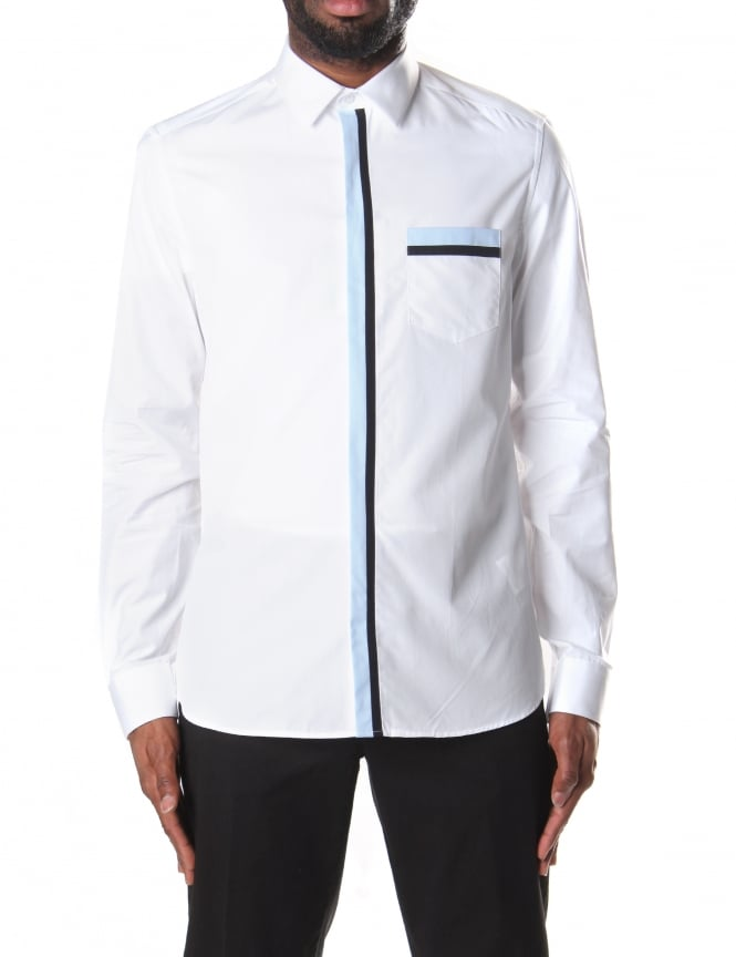 Kenzo Men's Ribbon Shirt