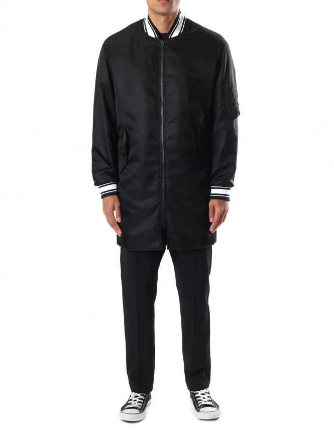 Kenzo Men's Signature Long Bomber Jacket