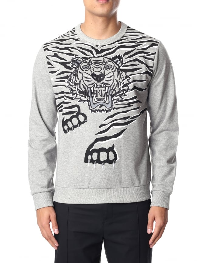 Kenzo Men's Tiger Claw Sweat Top