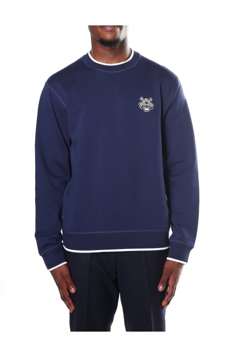 Men's Tiger Crest Sweat Top