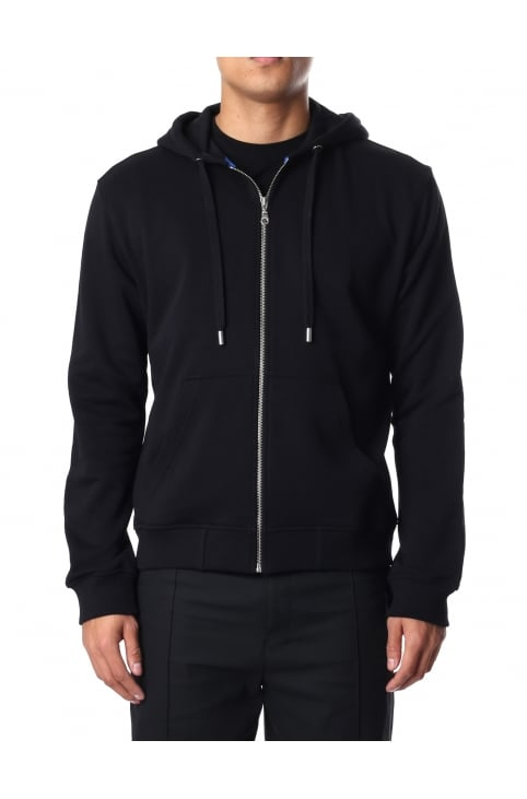 Men's Tiger Zip Through Hooded Sweat Top