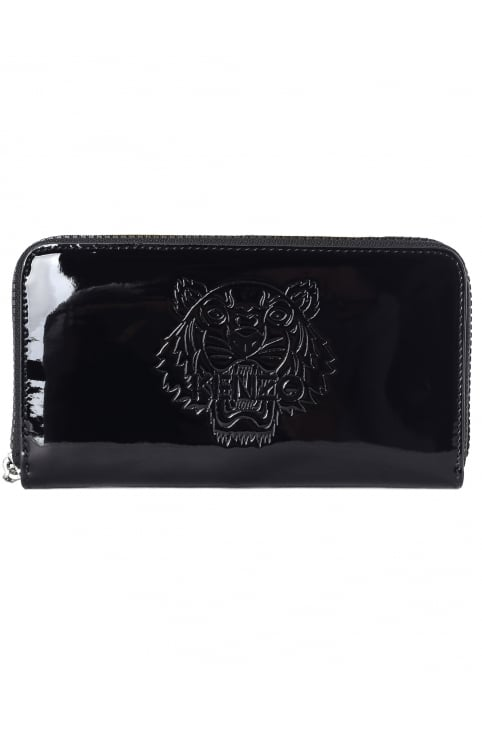 Patent Tiger Women's Wallet