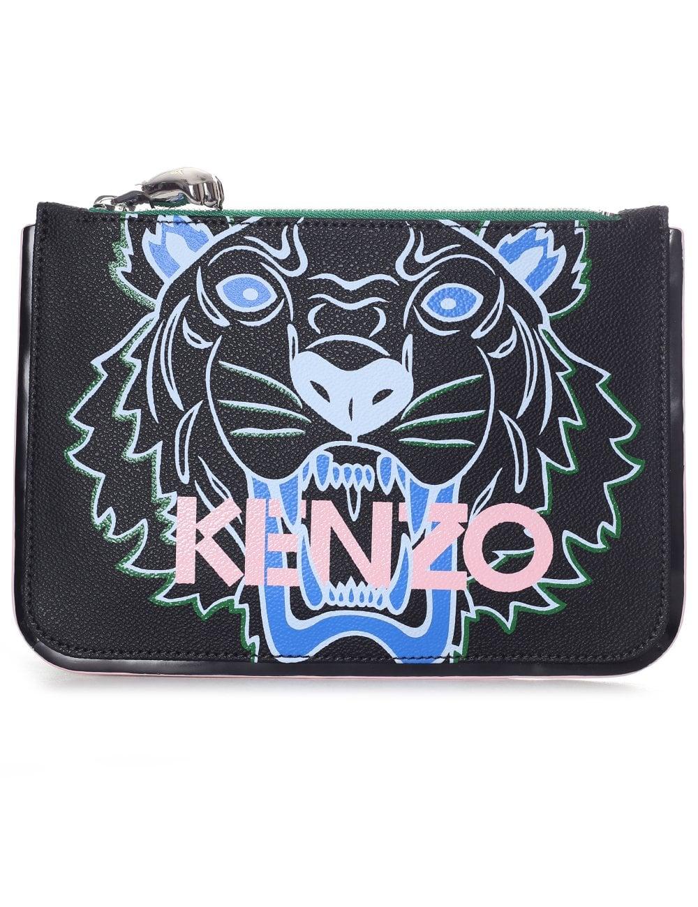 55ef7b5e Kenzo Women's A5 Tiger Clutch