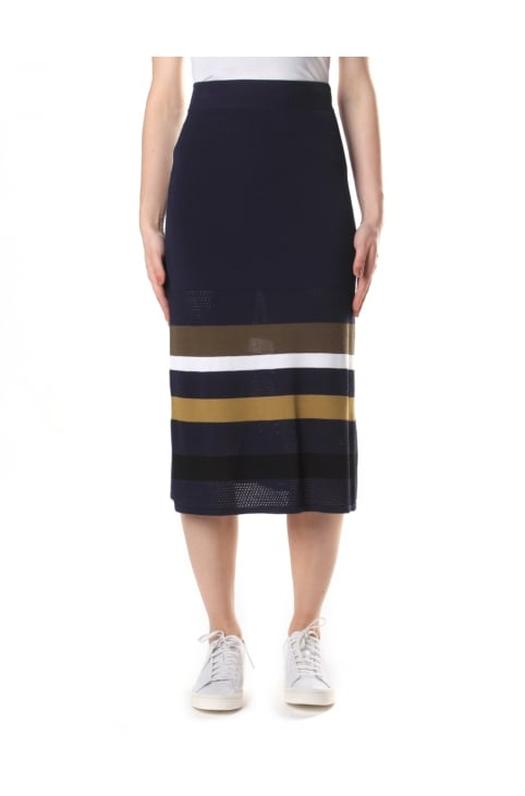 Women's Broken Camo Stripes Skirt