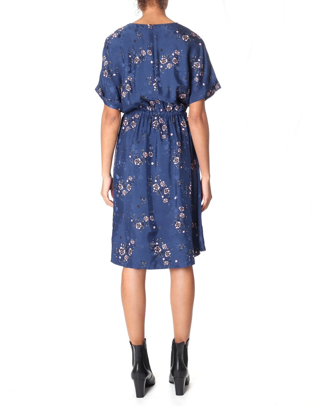 d723f7232e9 Kenzo Women s Cheongsam Flower Flounced Dress