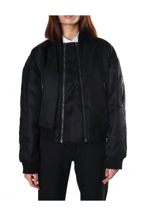 Women's Elevated Military Bomber