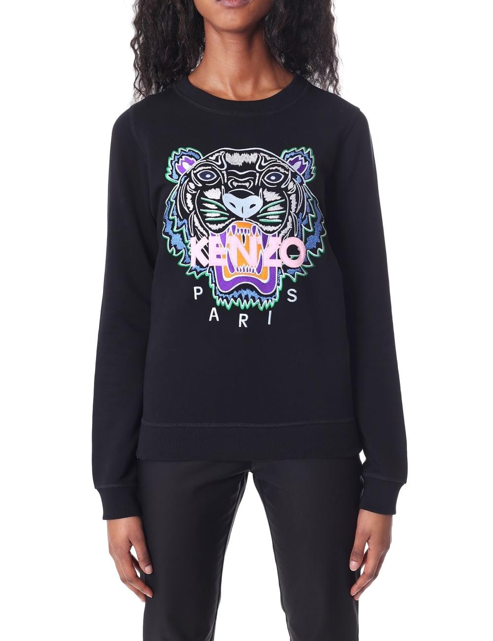 Kenzo Women s Embroidered Tiger Sweatshirt 827382204c