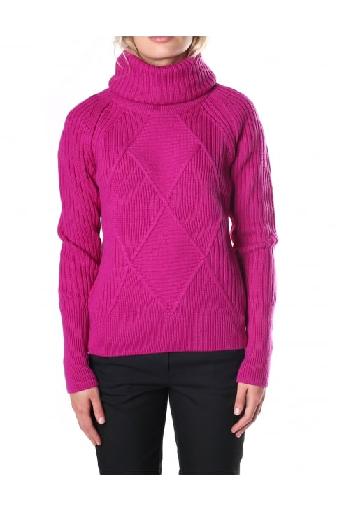 Women's Engineered Collar Sweater
