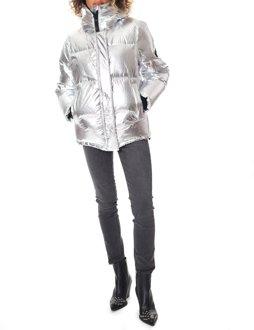 9e832aa905c0 Kenzo WOMEN S HOODED QUILTED DOWN JACKET - Women from Diffusion UK