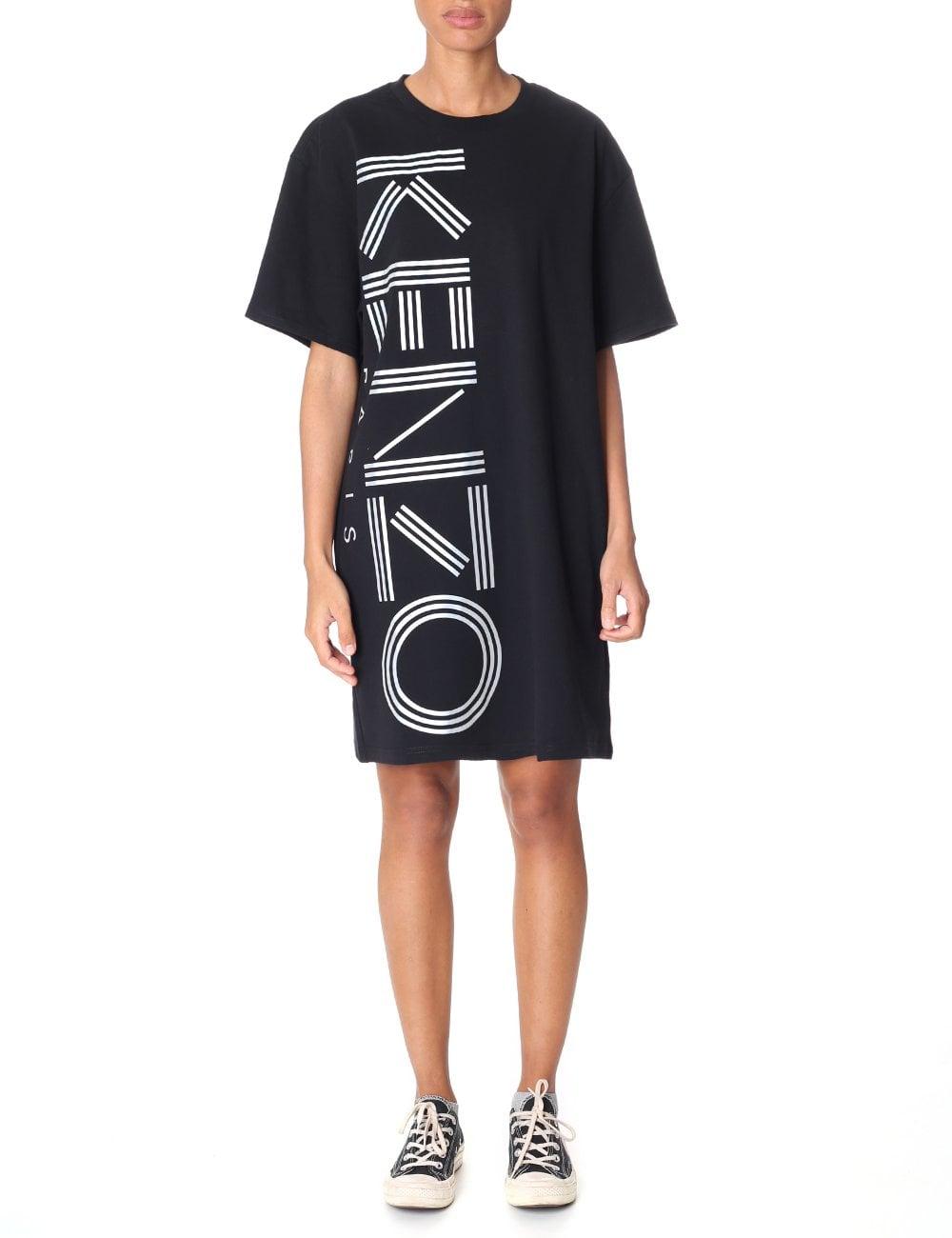 5449ec652015 Kenzo Women s Logo T-Shirt Dress