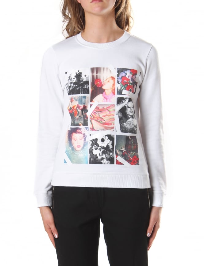 Kenzo Women's Photo Collage Sweatshirt