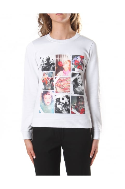 Women's Photo Collage Sweatshirt