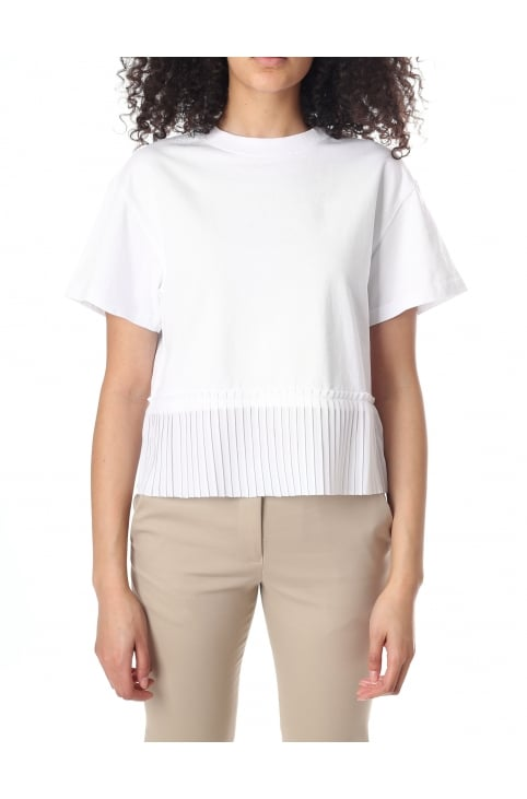 Women's Short Pleated Top